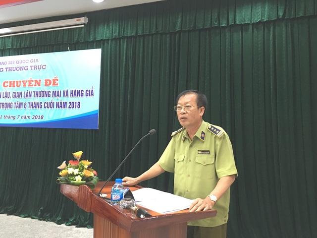 Ông Nguyễn Trọng Tín, Phó Cục trưởng Cục Quản lý thị trường, Bộ Công Thương.