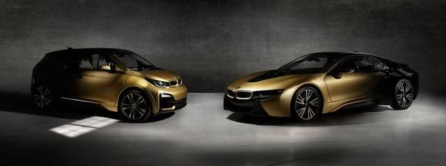 BMW trộn bột vàng vào sơn xe i3 và i8 - 1