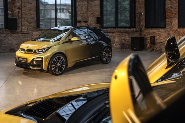 BMW trộn bột vàng vào sơn xe i3 và i8 - 13