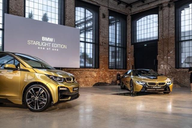 BMW trộn bột vàng vào sơn xe i3 và i8 - 7