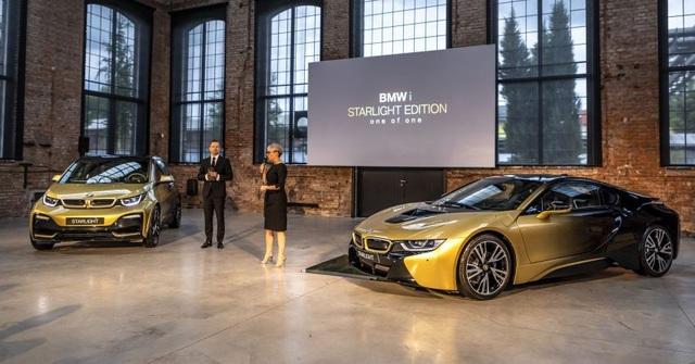BMW trộn bột vàng vào sơn xe i3 và i8 - 6