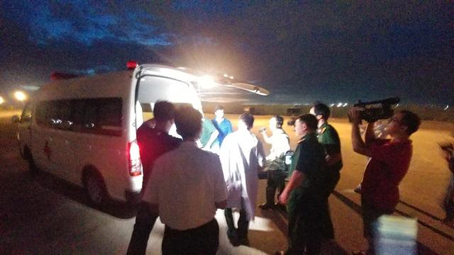 Bệnh nhân được chuyển về bệnh viện trong đêm