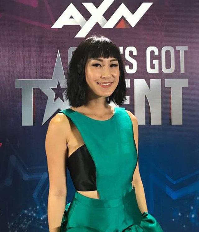 Ngoài ra nữ diễn viên từng đoạt giải thưởng quốc tế Kathy Uyên đã đến tham dự buổi tuyển chọn và dẫn dắt hoạt động Live Stream trên Fanpage ANX Asia