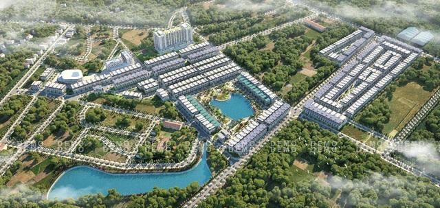 TMS Grand City Phúc Yên có quy mô 18,57ha