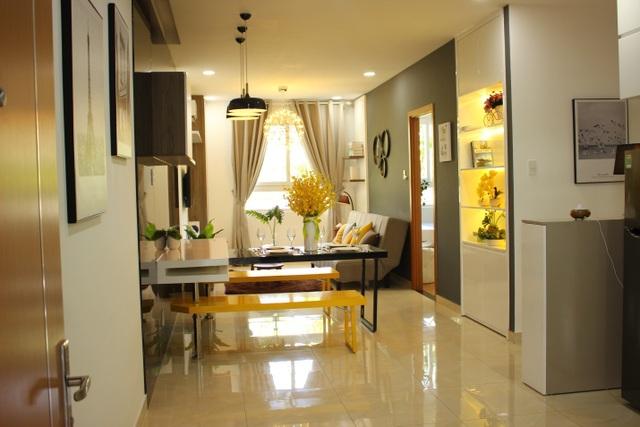 Thiết kế tinh tế, sang trọng bên trong căn hộ Marina Riverside
