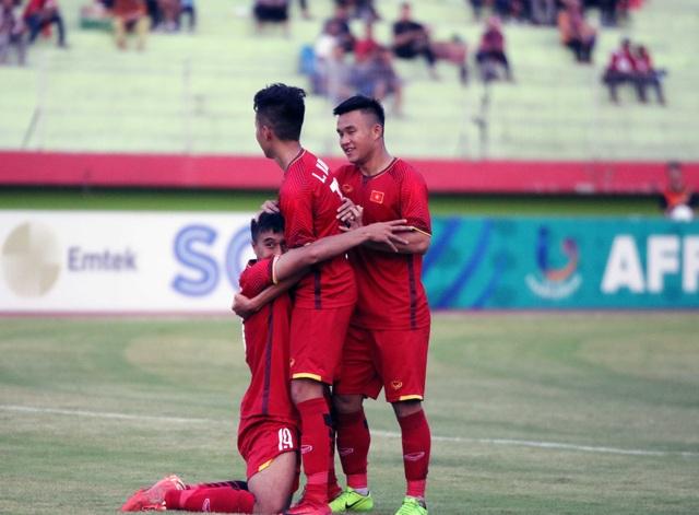 U19 Việt Nam đã có chiến thắng đậm đà trước U19 Philippines