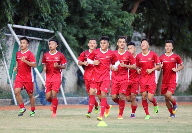 U19 Việt Nam đặt mục tiêu thắng đậm U19 Lào