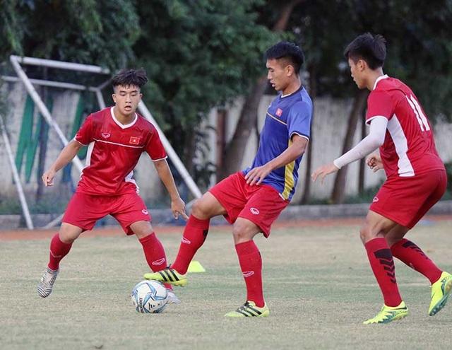 Cầu thủ U19 Việt Nam đã sẵn sàng cho trận gặp Lào