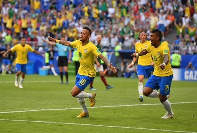 Brazil đang được đánh giá rất cao tại World Cup 2018