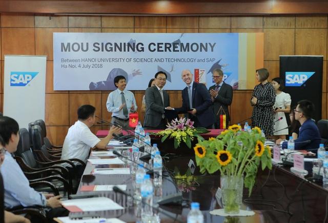 SAP và Đại học Bách khoa Hà Nội hợp tác đào tạo nhân tài đón đầu công nghiệp 4.0 - 1