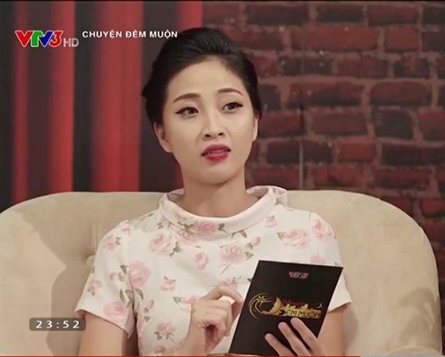 Liêu Hà Trinh vốn là cô gái được mệnh danh MC gợi cảm nhất của talkshow Chuyện đêm muộn.