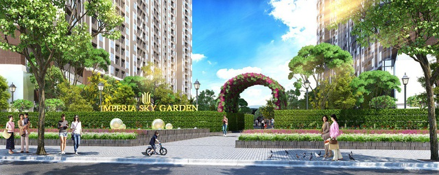 Imperia Sky Garden đang có chính sách ưu đãi rất lớn dành cho khách mua căn hộ