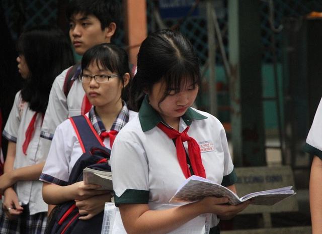 Học sinh thi vào lớp 10 năm nay