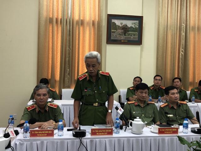 Thiếu tướng Phan Anh Minh – Phó giám đốc Công an TPHCM chia sẻ về quá trình khám phá vụ án khủng bố chấn động