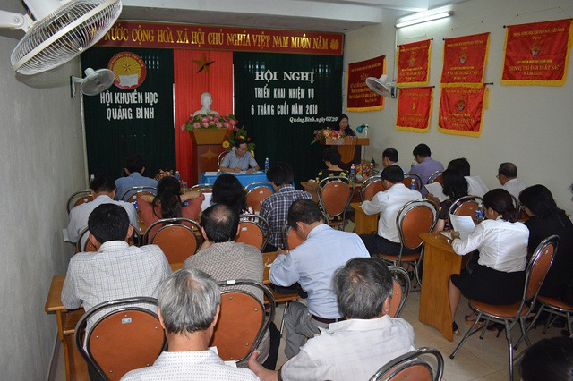 Hội Khuyến học tỉnh Quảng Bình tổ chức Hội nghị sơ kết 6 tháng đầu năm 2018