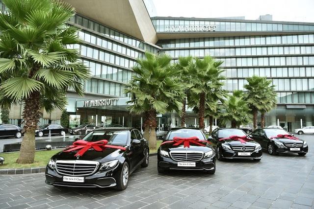 Khách sạn JW Marriot lựa chọn Mercedes-Benz cho đội xe chuyên chở cao cấp