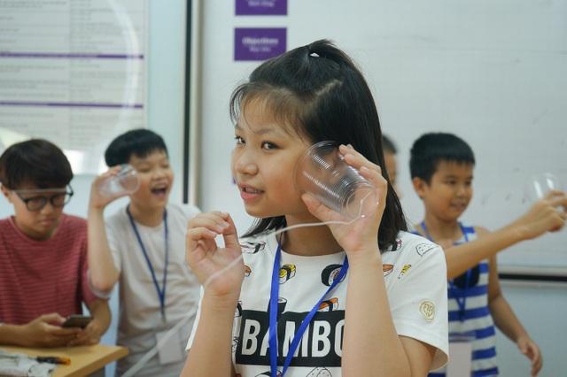 """Mê tít trại hè """"Chong chóng tre"""" của học sinh Hà Nội - 1"""