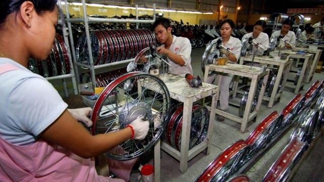 Cuộc chiến thương mại Mỹ - Trung đã khiến các doanh nghiệp đổ xô vào đầu tư tại Việt Nam và các nước Đông Nam Á khác. (Nguồn: Xinhua)