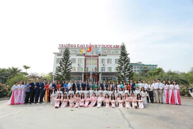 Trường Cao đẳng Y – Dược ASEAN có hệ thống giảng đường, phòng học, thư viện, khu thí nghiệm, thực hành, ký túc xá 1000 chỗ ở và nhà ăn tập thể.