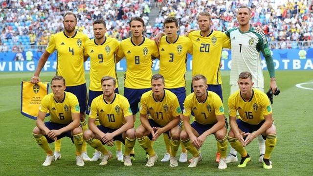 Đội hình ra sân của tuyển Thụy Điển