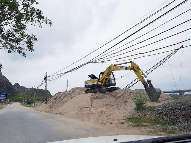 Hai bãi cát lậu ở xã Trường Yên không hề có trong danh sách phải dẹp bỏ của Sở NN&PTNT Ninh Bình.