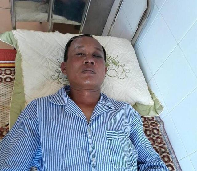 Anh Hảo hiện đang điều trị tại bệnh viện.