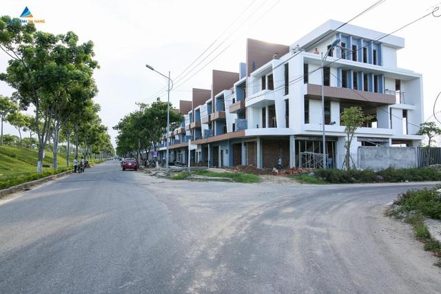 Phố thương mại Halla Jade Residences ven sông Hàn, quận Hải Châu, Đà Nẵng