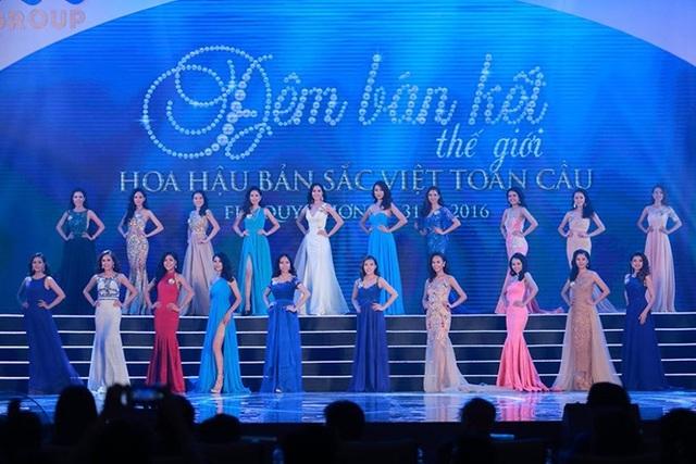 Dàn thí sinh rực rỡ mùa giải đầu tiên của Hoa hậu Bản sắc Việt toàn cầu 2016