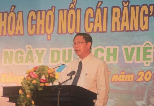 Ông Lê Văn Tâm - PCT UBND TP Cần Thơ phát biểu tại buổi lễ