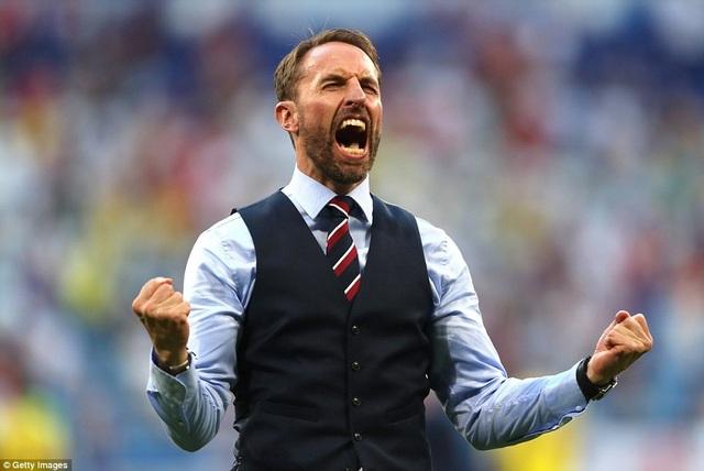 HLV Gareth Southgate giúp đội tuyển Anh có mặt ở bán kết World Cup 2018