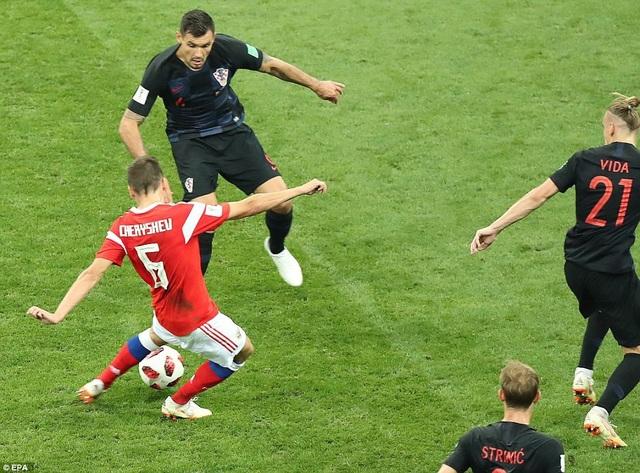 Đánh bại Nga ở tứ kết, Croatia sẽ gặp Anh ở bán kết