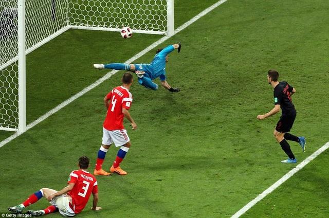 Kramaric là người gỡ hòa 1-1 cho Croatia ở phút 39