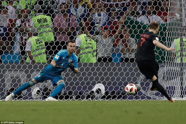 Ivan Rakitic thực hiện thành công cú sút quyết định cho Croatia