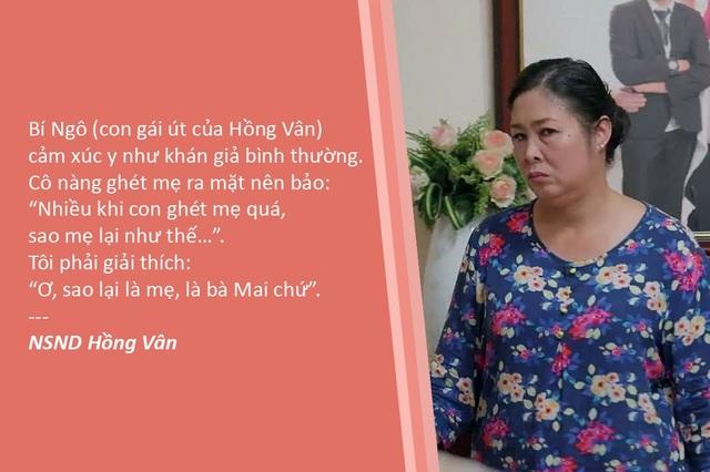 """Xem thêm: NSND Hồng Vân: """"Đến con gái còn ghét tôi vì không chịu nổi vai bà mẹ cay nghiệt"""""""