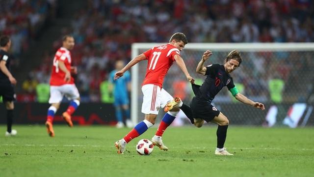 """Nga 2-2 Croatia (penalty 3-4): Tiếc nuối cho """"Gấu Nga"""" - 10"""