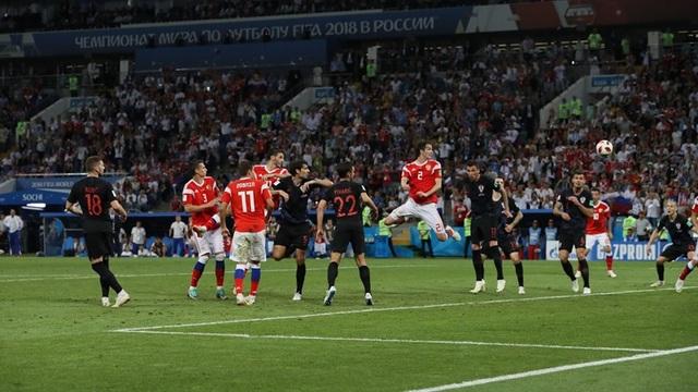 """Nga 2-2 Croatia (penalty 3-4): Tiếc nuối cho """"Gấu Nga"""" - 5"""