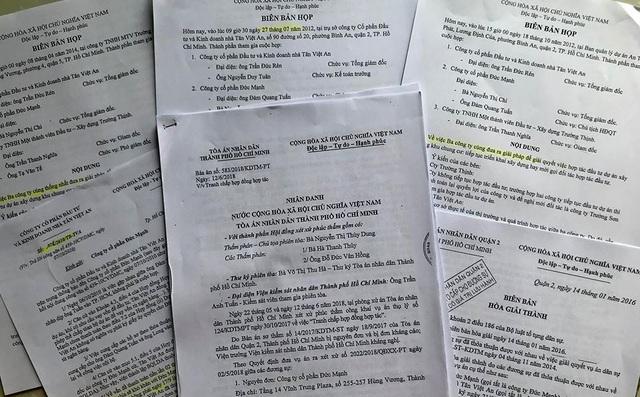 Ủy ban Kiểm tra Trung ương, Viện KSND Tối cao cũng như ý kiến của Viện KSND TP tại phiên tòa...đã có văn bản chỉ rõ những vi phạm về tố tụng, nhưng HĐXX cấp phúc thẩm vẫn cho rằng, những lỗi vi phạm tố tụng của TAND Q.2 là không nghiêm trọng.
