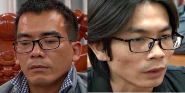 Hai đối tượng cầm đầu tổ chức đánh bạc Nguyễn Tấn Thành và Trần Thanh Tín