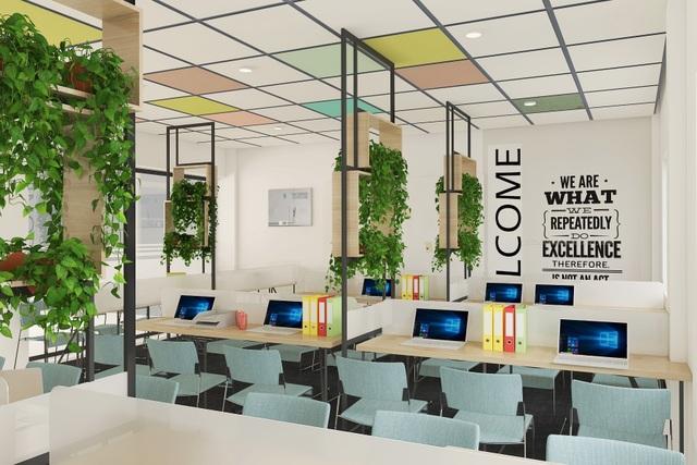 """Cơ sở vật chất Trường Đại học Phú Xuân được thiết kế theo mô hình """"learning office"""""""