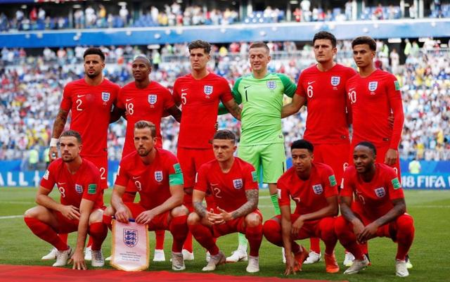Đội hình đội tuyển Anh ra quân trong trận gặp Thụy Điển