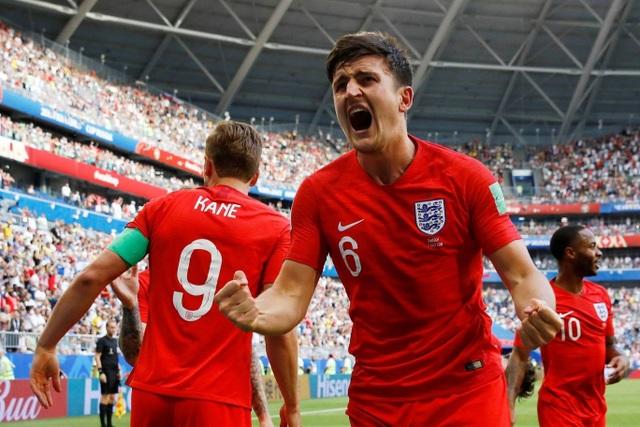 Niềm vui của Maguire, cuối cùng anh cũng có bàn thắng đầu tiên ở World Cup