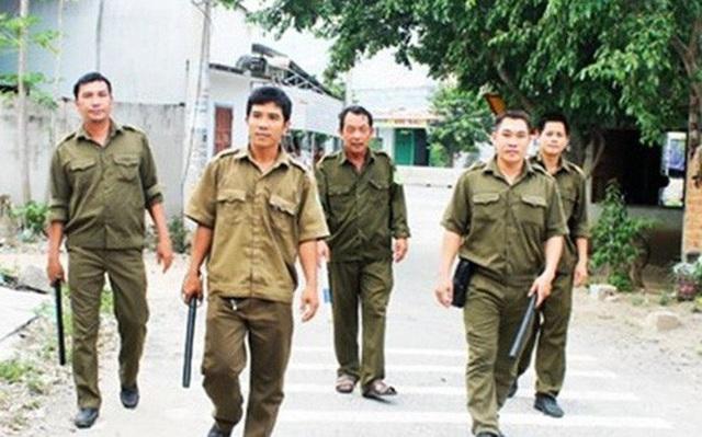 Lực lượng công an xã (Ảnh minh hoạ)
