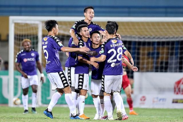 CLB Hà Nội hướng đến chức vô địch V-League sớm - Ảnh: Gia Hưng