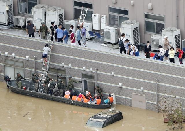 Reuters dẫn thông tin từ truyền thông và Cơ quan Quản lý Thảm họa và Hỏa hoạn Nhật Bản cho biết tính đến ngày 8/7, ít nhất 81 người đã thiệt mạng khi mưa lũ đổ bộ vào các khu vực miền tây và trung Nhật Bản trong những ngày gần đây.
