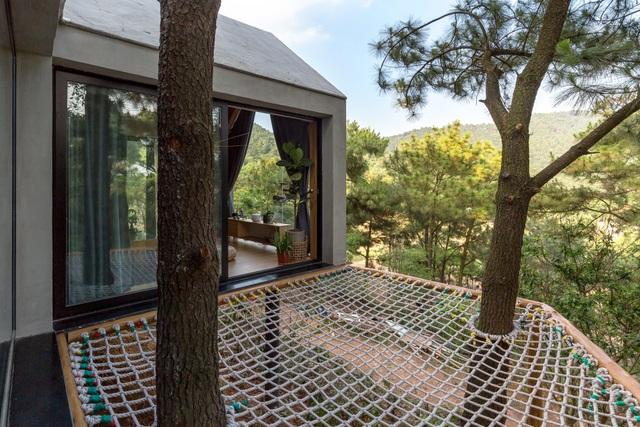 """Đẹp lạ ngôi nhà """"tránh nóng"""" giữa rừng cây ngay rìa Thủ đô - 7"""