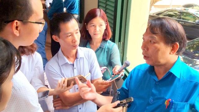 Ông Mai Đức Chính trả lời báo giới chiều 9/7 tại Hà Nội.