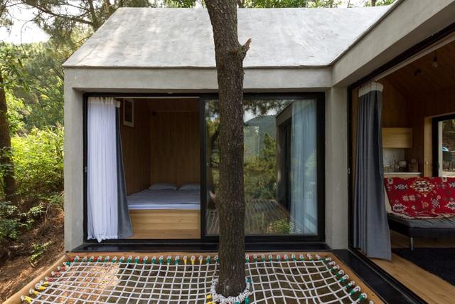 """Đẹp lạ ngôi nhà """"tránh nóng"""" giữa rừng cây ngay rìa Thủ đô - 3"""