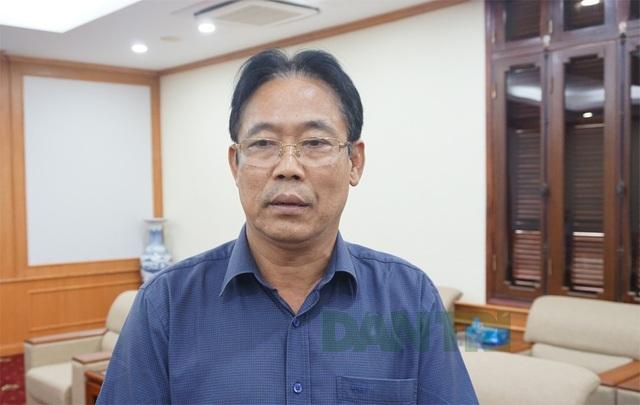 Ông Lê Trọng Quảng – Phó Chủ tịch UBND tỉnh Lai Châu trao đổi với phóng viên Dân trí.