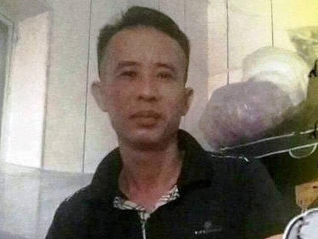 Nạn nhân Trần Quang Trung.