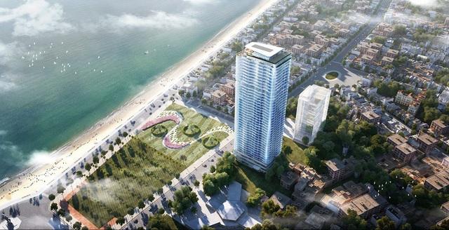 TMS Luxury Hotel & Resiedence Quy Nhon - một sản phẩm BĐS nghỉ dưỡng cao cấp của Tập đoàn TMS